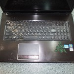 Ноутбук на запчасти модель Lenovo G770