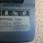 Acer 7736ZG 17.1 kupit v razbor
