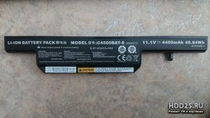 Купить батарею c4500bat-6 для ноутбука dns w270elq 17.3