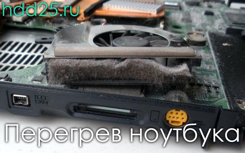 Чистка ноутбука от пыли Владивосток