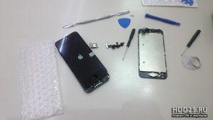 Iphone замена экрана, ремонт у вас на дому Выезд