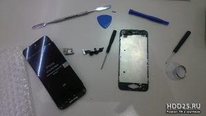 Iphone 5 замена экрана, на дому Выезд Владивосток бесплатно