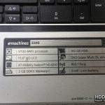 Продам ноутбук на запчасти EMashines E440 купить